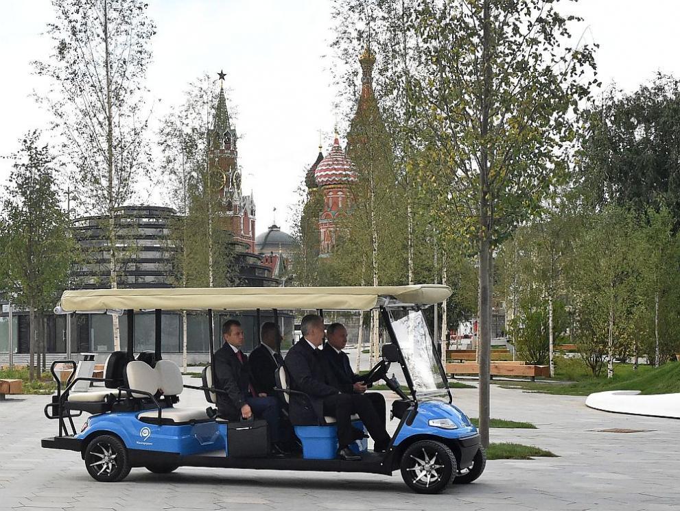 нов парк Москва