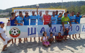 МФК Спартак е шампион на България по плажен футбол