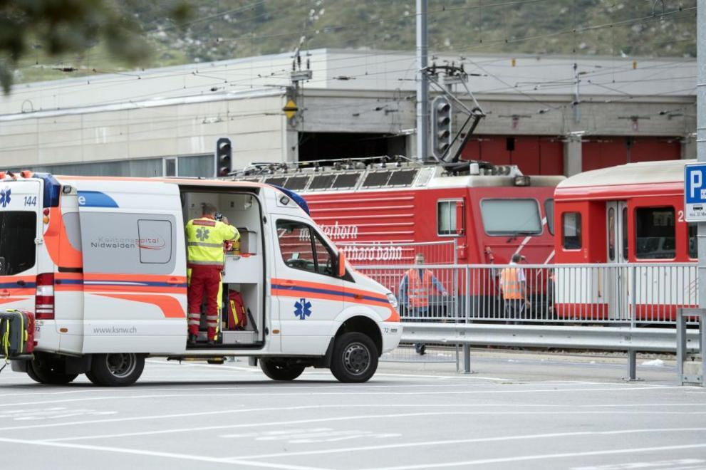 влаков инцидент в Швейцария