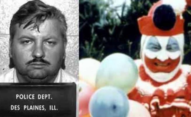 Джон Уейн Гейси и Клоунът Пого.