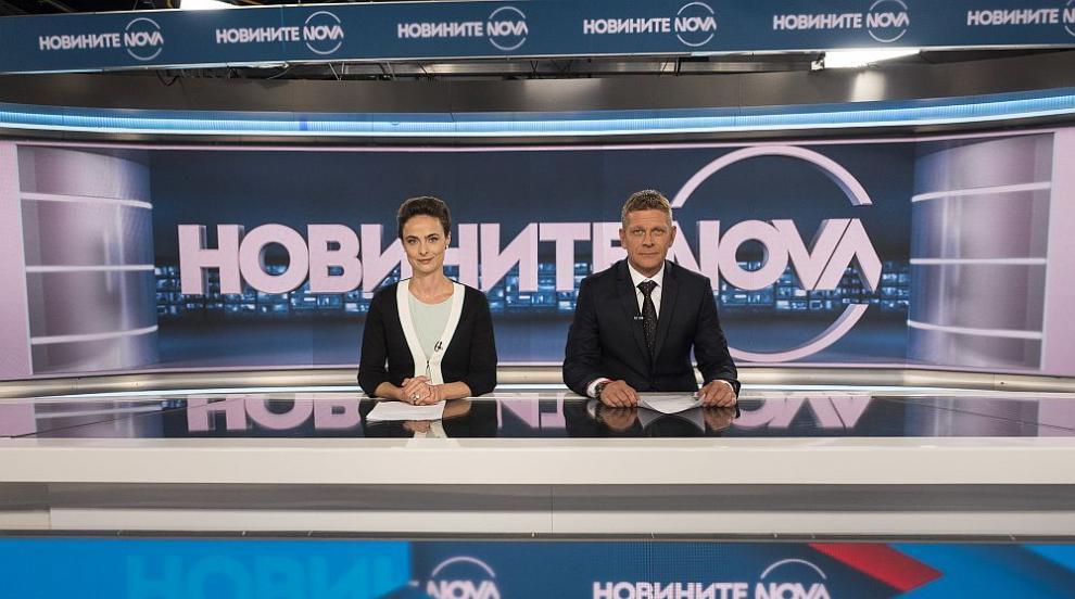 Юлиан Вергов и Йоана Букoвска-Давидова в Новините на NOVA преди старта на...