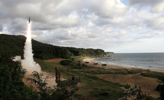 Южна Корея също изстреля ракети в отговор на севернокорейската провокация