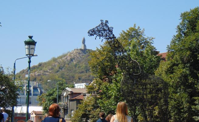 Пловдив, жираф, изкуство