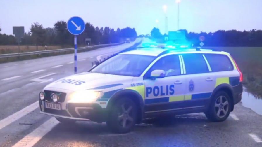 В Швеция спряха кола, натъпкана с експлозиви