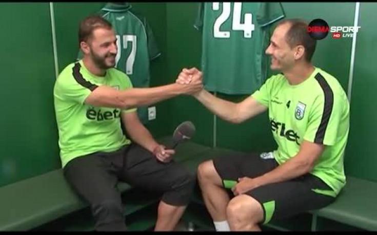 Ветеран от Витоша спря с футбола и стана помощник на Кирилов