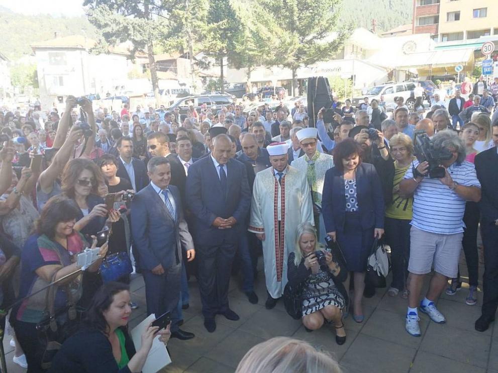 Премиерът Бойко Борисов посети Девин