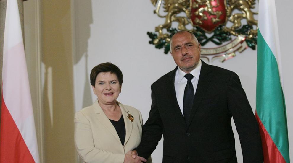 Хвалби и благодарности си размениха премиерите на България и Полша (СНИМКИ)
