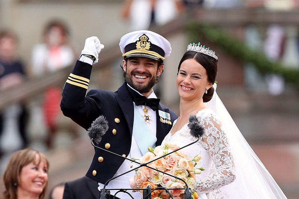 Принц Карл Филип и София Хелквист