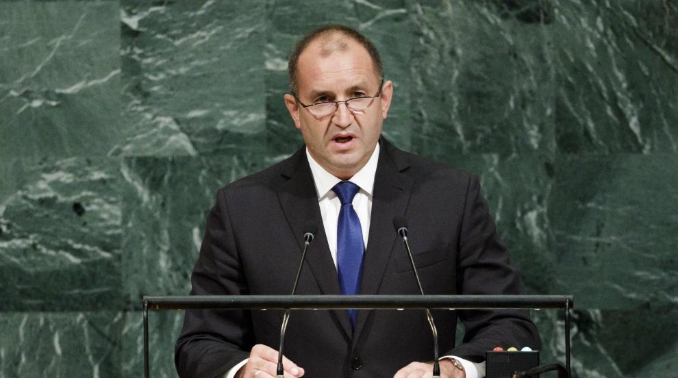 Президентът Румен Радев с първо обръщение пред ООН