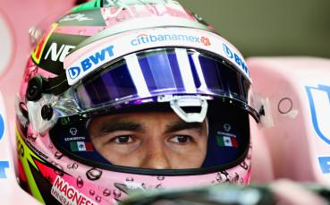 Серхио Перес отново аут от състезанието във Великобритания