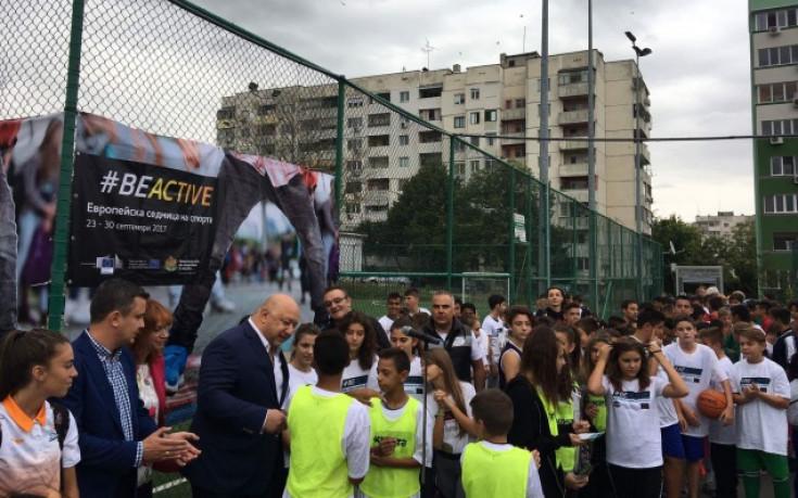 Министър Кралев в Стара Загора: Ще има нови програми за детски спорт