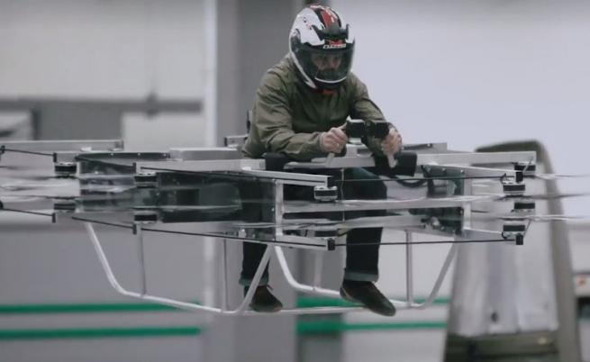 """Прототипът на """"летящата кола"""" на Калашников"""