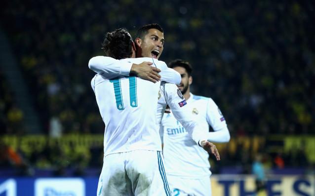 Борусия Дортмунд и Реал Мадрид играят при резултат 1:3във втори