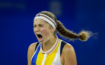 Йелена Остапенко се класира на полуфиналите в Люксмебург с експресна победа срещу германка