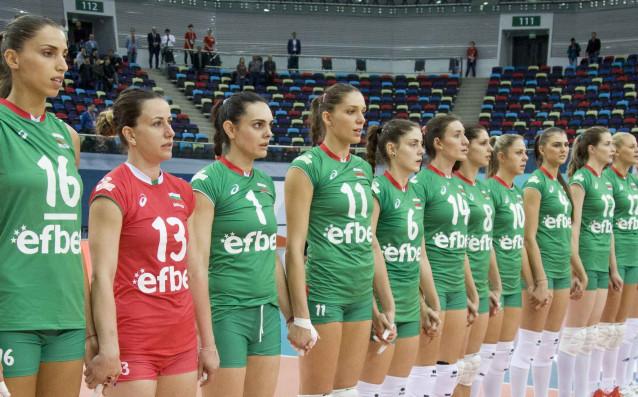 Национален отбор по волейбол за жени източник: cev.lu