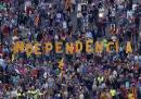 Митингът в Барселона