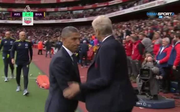Арсенал - Брайтън 2:0 /репортаж/