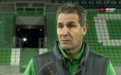 Димитър Димитров: Заслужена победа срещу един от най-стойностните отбори