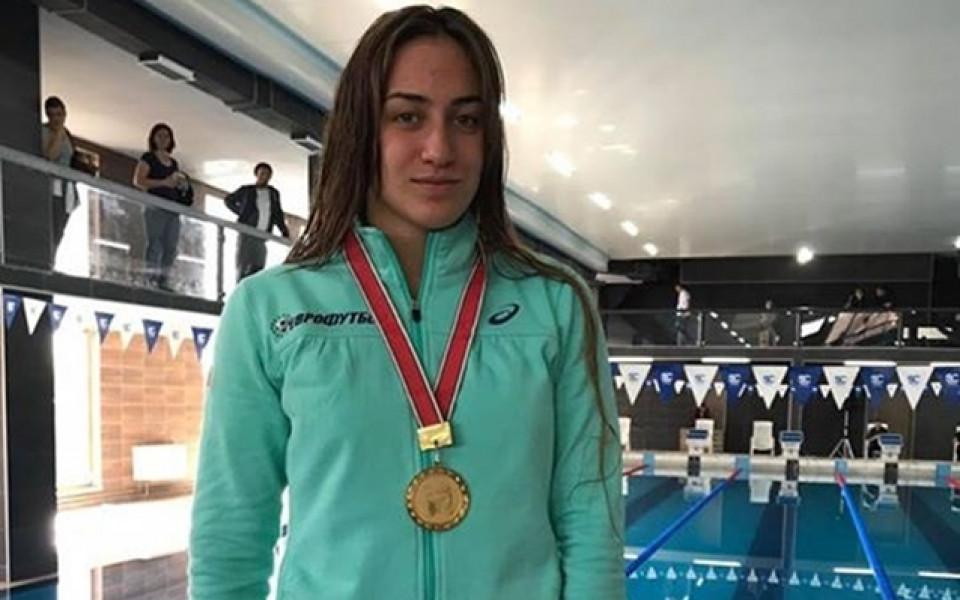 Диана Петкова подобри рекорда на Таня Богомилова на 50 метра бруст