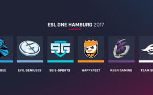 Запознайте се с класиралите се отбори за ESL One Hamburg 2017