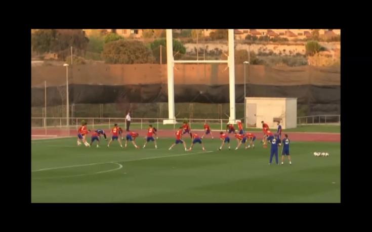 Испания прекрати тренировка заради освиркванията по Пике