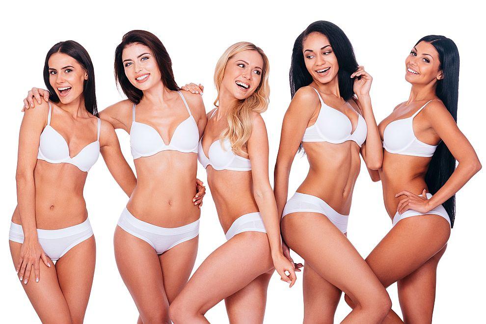 В днешно време ни залива изобилие от женска прелест. Британско проучване разкрива кои телесни характеристики на известни дами притежава идеалната жена според мъжете и жените