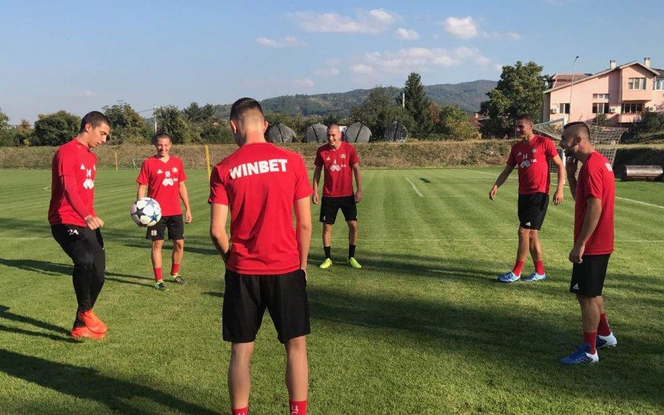 Седем юноши започнаха подготовка с ЦСКА