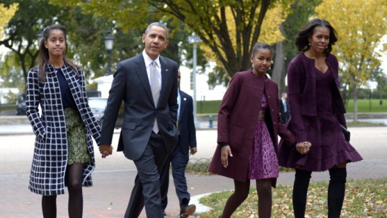 Приказката на Барак и Мишел Обама