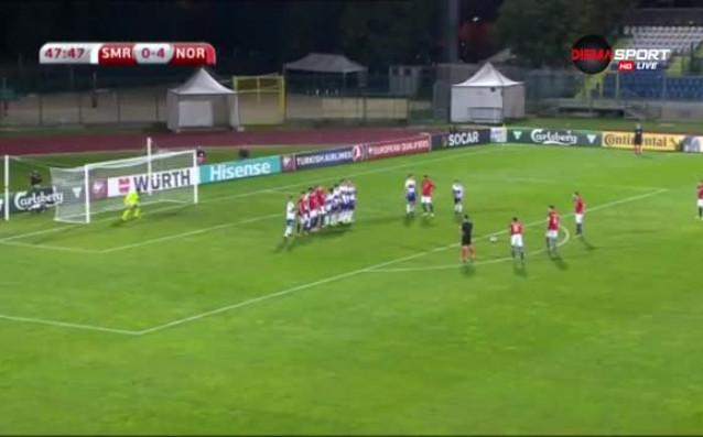 В мач от група C Норвегия размаза като гост футболното