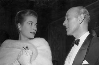 Грейс Кели през 1955 г.
