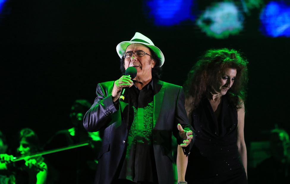Сн. 7  - Италианският певец Ал Бано с новия си спектакъл в НДК. Той излезе на сцената с виртуозите от Софийска филхармония, И представи всичките си големи...