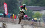 Дъжд и кал в първия ден на Европейското първенство по мотокрос в Троян