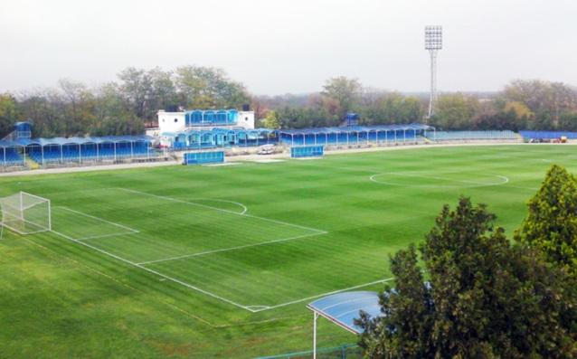 Стадионът в Каварна източник: Локомотив Русе