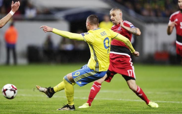 Швеция разби Люксембург в нашата група