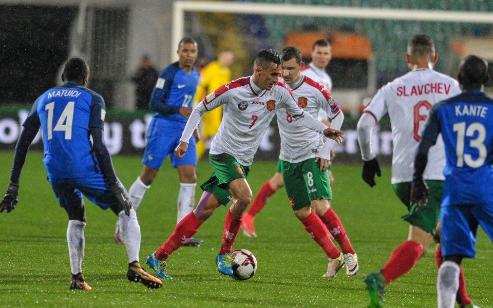 Френската футболна федерация преговаря с Българския футболен съюз за промяна