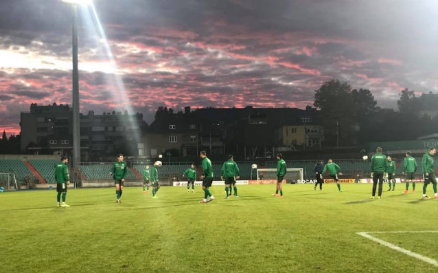 България тренира преди Люксембург източник: Ивайло Йовчев