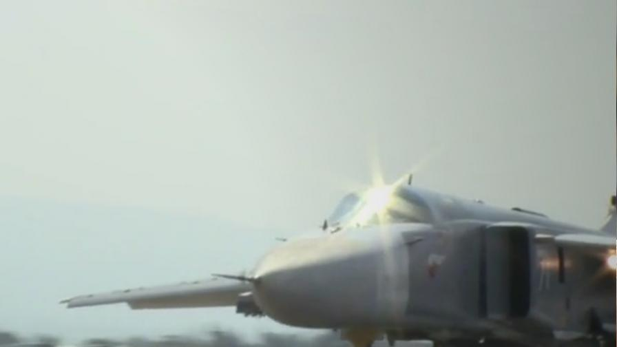В Сирия загина екипажът на руски бомбардировач