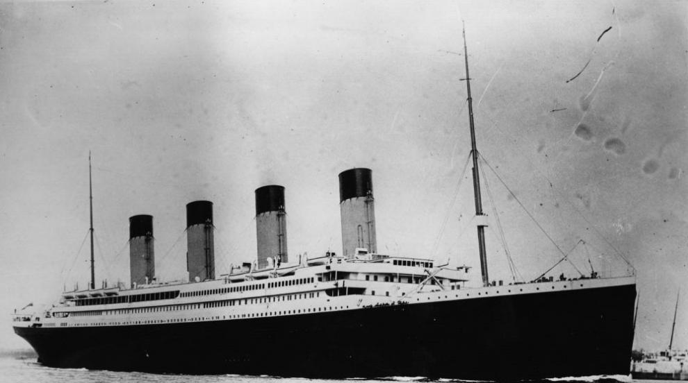 """Вадят от дъното на океана телеграфа на """"Титаник"""",..."""