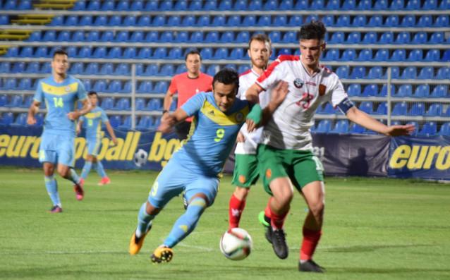 Казахстан - България 1:1 източник: Lap.bg