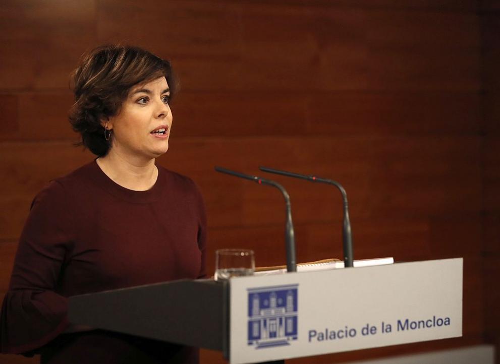 испанският вицепремиер Сорая Саенс де Сантамария