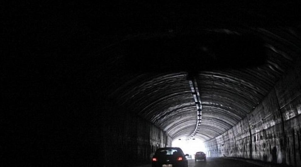 """Ограничават движението в тунел """"Траянови врата"""" на """"Тракия"""" заради..."""