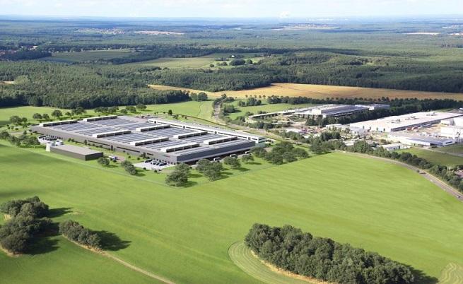 Вторият завод на Daimler за батерии в Каменц.
