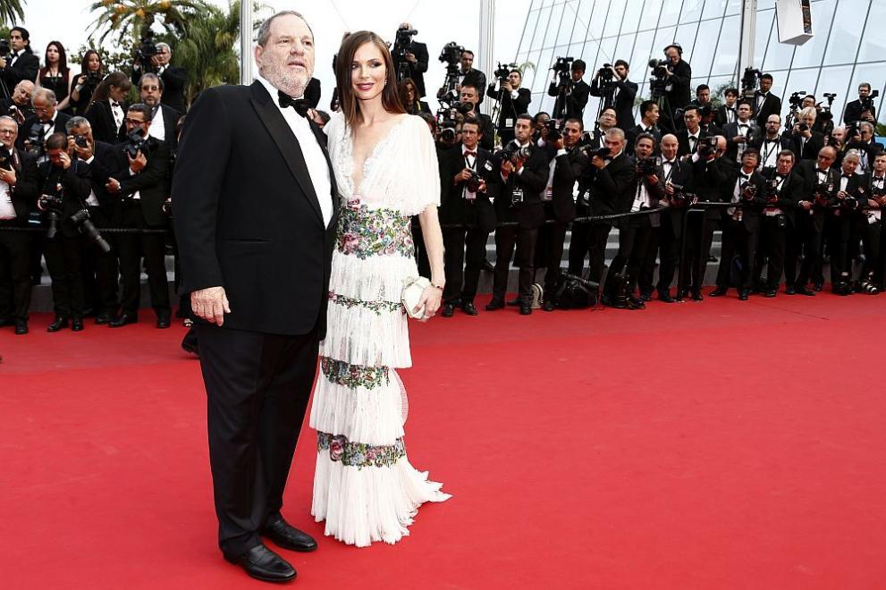 Известният холивудски продуцент Харви Уайнстийн и съпругата му Джорджина Чапман