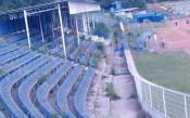 Стадион Спартак във Варна в окаяно състояние