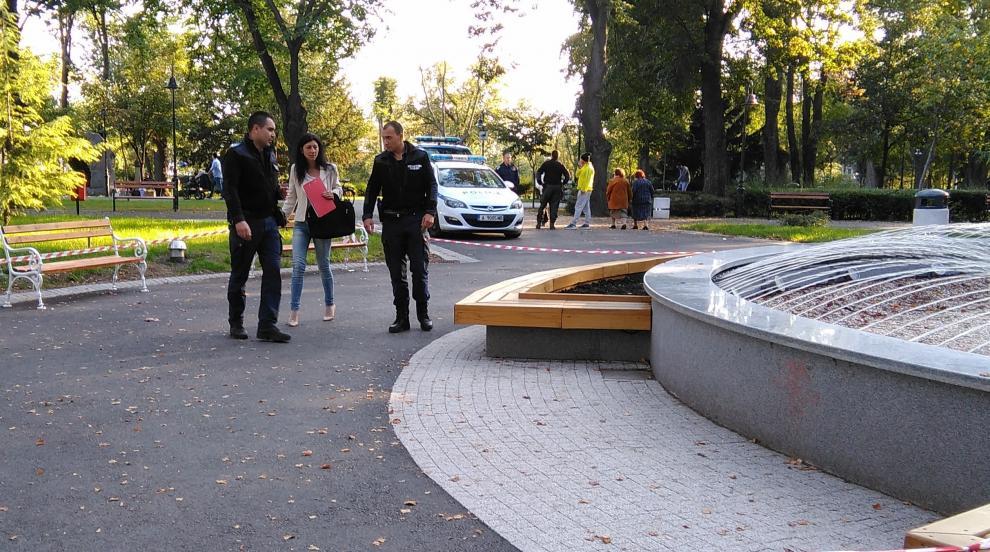 Мъж загина при инцидент на фонтана в Морската градина на Бургас