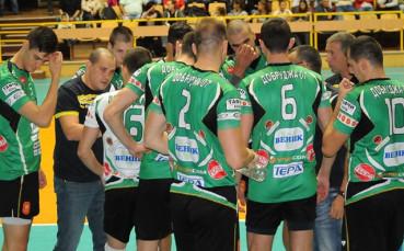 Волейболният Добруджа би Черно море в приятелски мач