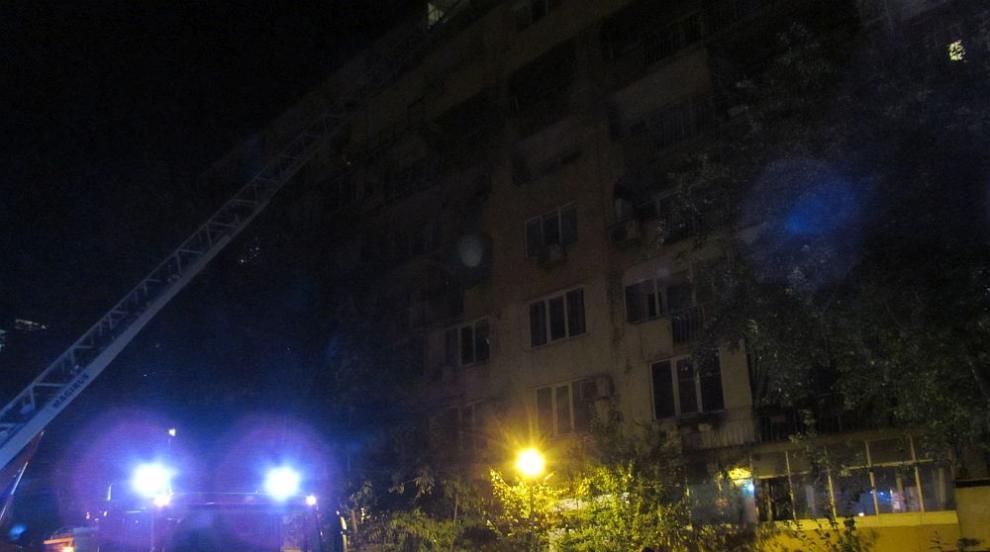 Възрастен мъж загина при пожар в Русе, евакуираха съседите му