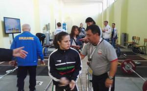 Бронз за България на Европейското по вдигане на тежести
