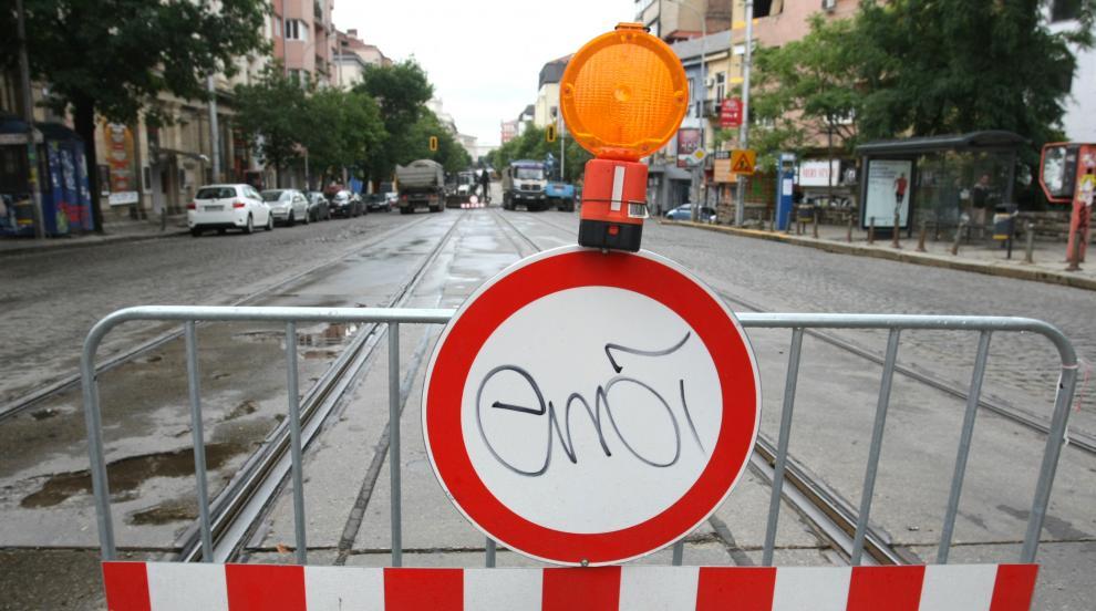 """Вижда ли му се краят на ремонта по столичния бул. """"Дондуков""""?"""