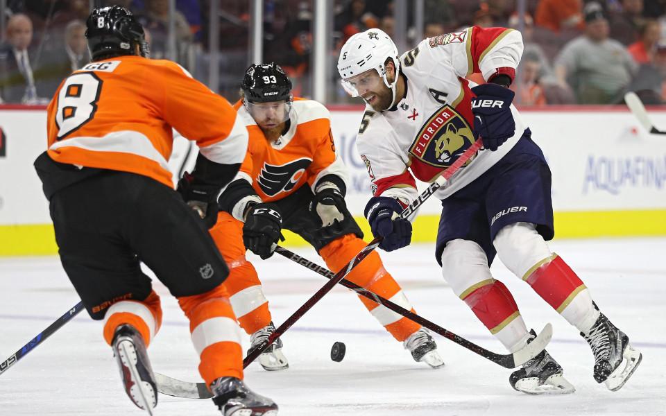 Филаделфия отнесе Флорида у дома, лидерите в НХЛ също с победи